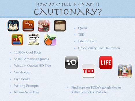 Cautionary Apps: Episode 9 « techchef4u | AppHappy! | Scoop.it