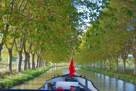 Cruise an Engineering Marvel on the Canal du Midi - Canal Barge ... | Aude Cathar Country | Scoop.it