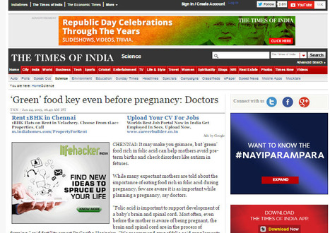 Article In Times Of India | ICSI treatment in Chennai | Scoop.it