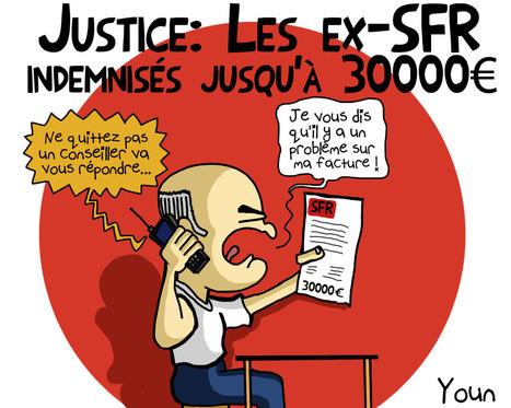 [Dessin de la semaine] SFR condamné, SFR remboursé ?   Toulouse La Ville Rose   Scoop.it