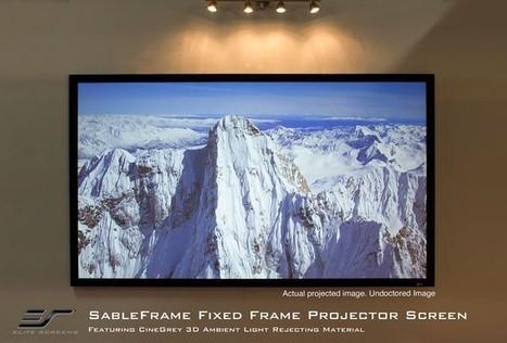 Enjoy 3d Projection Screen adventure with Elite screen | Projector Screens | Scoop.it