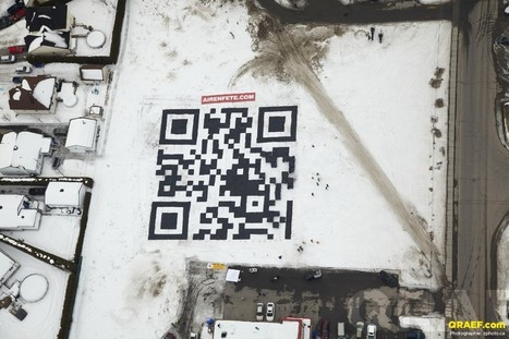8 Unique QR Code Campaigns | Everything from Social Media to F1 to Photography to Anything Interesting | Scoop.it