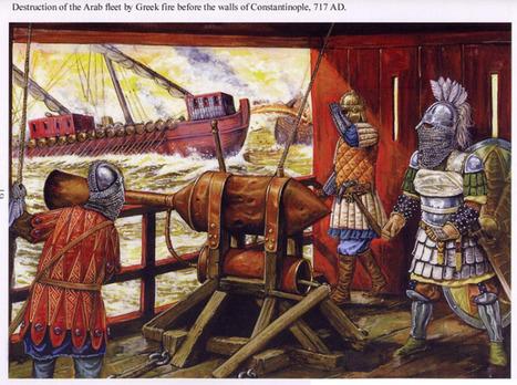 La química del fuego griego, el secreto militar mejor guardado de la historia | Historia Antigua | Scoop.it