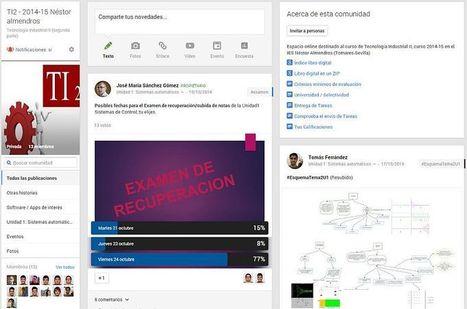 Una Comunidad de Google+ como aula virtual. Moodle is dead | tecno4 | Scoop.it