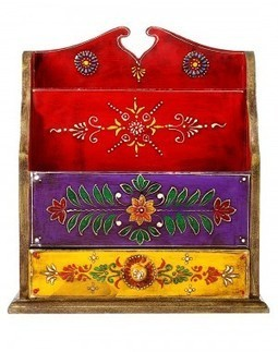 Hand Painted traditional Magazine Holder | Fashion & Accessories | Scoop.it