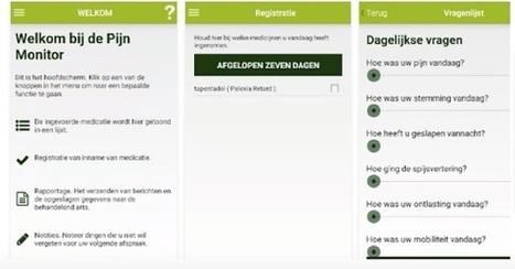 Zelfmanagement pijn app beschikbaar | MedicalFacts.nl | Ergotherapie | Scoop.it