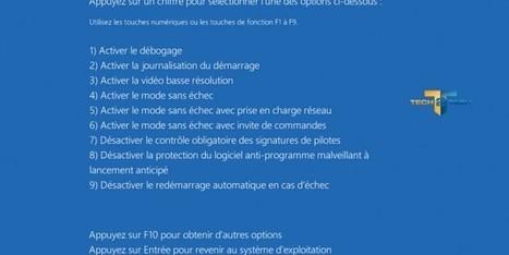 Comment accéder au mode sans échec de Windows 8 ? | TICE, Web 2.0, logiciels libres | Scoop.it