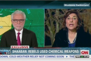 Syrian media adviser Bouthaina Shaaban: SLAMS Wolf Blizer on CNN T.V - Intifada Palestine | Syria | Scoop.it