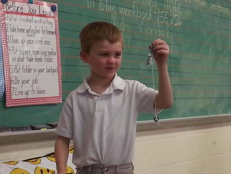 Twitter / strochindy: Evan Quinlan shows how a pulley ... | Introduction to Simple Machines | Scoop.it