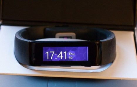 A first look at the Microsoft Band | Technology in Business Today | Scoop.it