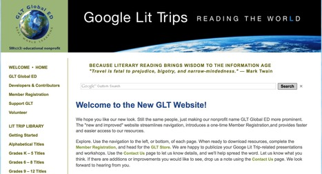 Welcome to the New Google Lit Trips Website! | Google Lit Trips: Reading About Reading | Scoop.it