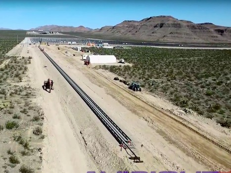 The first major Hyperloop test is happening in Vegas this week with French Railway SNCF as an investor | Investir dans les Start-ups | Scoop.it