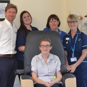 Sudbury's TGA Mobility donates state-of-the-art care chair to West Suffolk Hospital Macmillan cancer unit — News — TGA Mobility | Disability and Mobility | Scoop.it