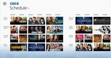 CBS launches full episode streaming TV apps for Android and Windows 8 - Engadget | Richard Kastelein on Second Screen, Social TV, Connected TV, Transmedia and Future of TV | Scoop.it