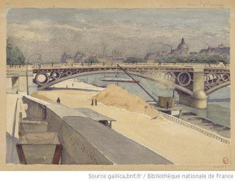 Paris dans la deuxième moitié du XIXe siècle: les dessins de la collection Chauvet | Gallica | GenealoNet | Scoop.it