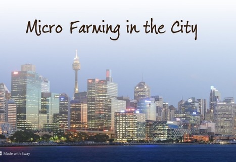 Micro Farming in the City | Vertical Farm - Food Factory | Scoop.it