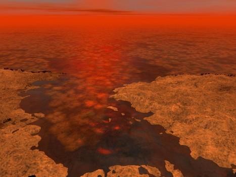 L'île mystérieuse d'un satellite de Saturne | Mars et astronomie | Scoop.it
