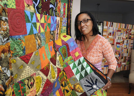 Every patch of fabric tells a story - Bucks County Courier Times | art contemporain africain | Scoop.it