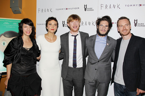 Whoa. Michael Fassbender and Maggie Gyllenhaal Bring Out Their Inner Rock Stars at 'Frank' Premiere | Tracking Transmedia | Scoop.it