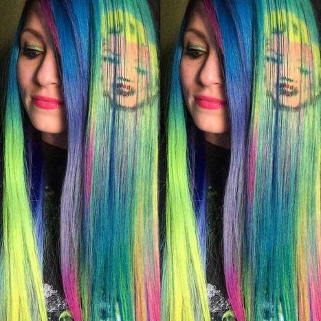 Color stylist reproduces famous works of art onto hair with the creative use of dye | D_sign | Scoop.it