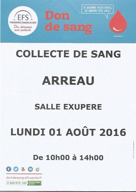 Collecte de sang à Arreau le 1er août -Etablissement Français du Sang | Vallée d'Aure - Pyrénées | Scoop.it