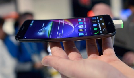 LG's New G Flex: A Curvy Phone That's Not Afraid to Bend a Few Rules | Information technology | Scoop.it
