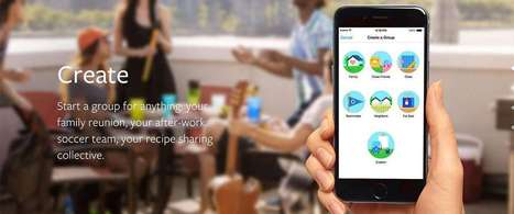 Facebook introduceert een Groups App | Mediawijsheid volgens de mediacoach | Scoop.it