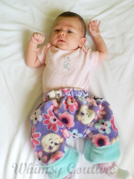 {Reader Tutorial} Free Cuddle Baby Pants PDF Sewing Pattern - And Sew We Craft | knooking | Scoop.it