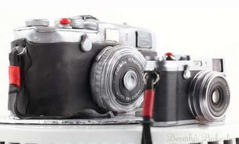 Shutterbug Sweets - FujiFilm X100 Cake | @FoodMeditations Time | Scoop.it