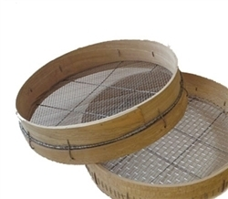 Beech Sieve with 1/4 inch (6mm) mesh | Archaeology Tools | Scoop.it