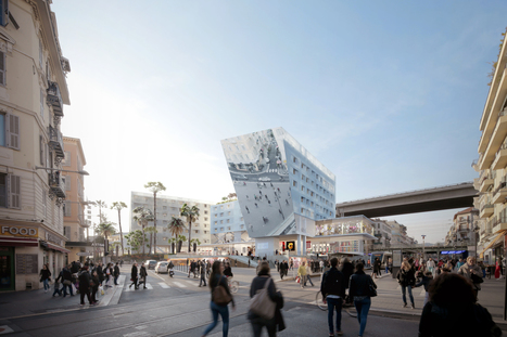 NEW mixed-use complex Station Promotes Urbanism and Social Interaction in Nice | The Architecture of the City | Scoop.it