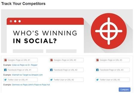 Algunas herramientas gratuitas para realizar un análisis de tu competencia en redes sociales - Marketing redes sociales | bmarketing | Scoop.it