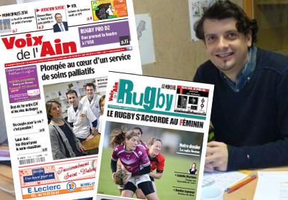 """En 2014, Voix de l'Ain mise sur le rugby et innove dans le """"multimédia""""   DocPresseESJ   Scoop.it"""