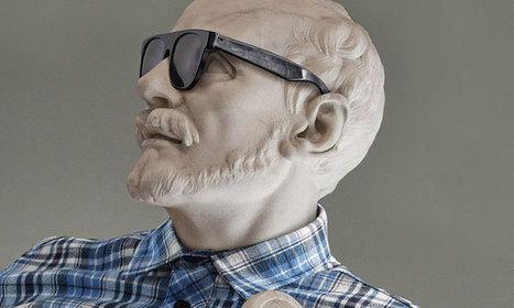 Les célèbres sculptures du Louvre complètement relookées en Hipster   Les Gentils PariZiens : style & art de vivre   Scoop.it