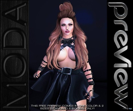 Petty Bun Caramel Ombre Hair Gift by MODA Designs | Teleport Hub - Second Life Freebies | Second Life Freebies | Scoop.it