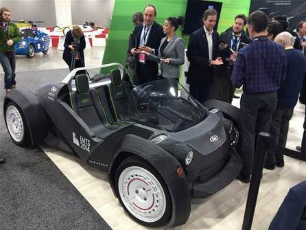 2015 Detroit Auto Show: You Might Be Able To Buy 3D–Printed Cars In A Year | 3d printers and 3d scanners | Scoop.it