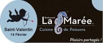Saint-Valentin à la Marée, pour un repas plein de tendresse ! | RESTOPARTNER : des restaurants  de qualités à Paris - France | Scoop.it