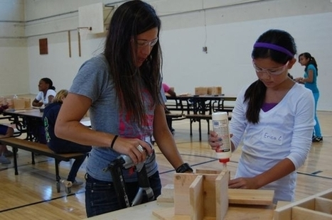 A Camp to Teach Young Girls How to Use Power Tools | Women in action : positive initiatives for women | Scoop.it