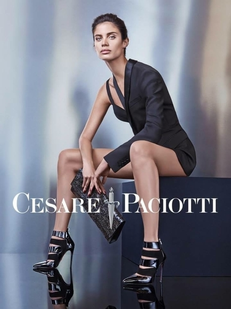 Cesare Paciotti Fall / Winter 2015 Ad Campaign with Sara Sampaio | Le Marche & Fashion | Scoop.it