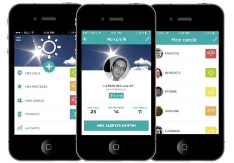 #Mobile : Sant.ee, l'application qui transforme son smartphone en outil de prévention santé  | Innovation & Technology | Scoop.it