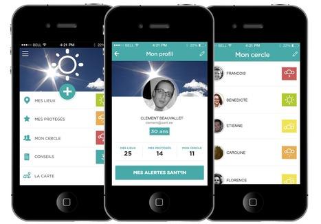#Mobile : Sant.ee, l'application qui transforme son smartphone en outil de prévention santé | Innovation & Technology | Scoop.it