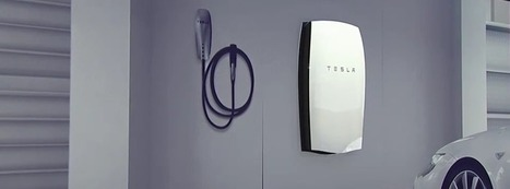 Energy Storage Revolution: Tesla solar-powered battery system to power your home | Solar Science & Technology News | Scoop.it