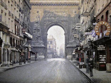 De très rares photos de Paris datant du siècle dernier refont surface… en couleur ! | TICE & FLE | Scoop.it