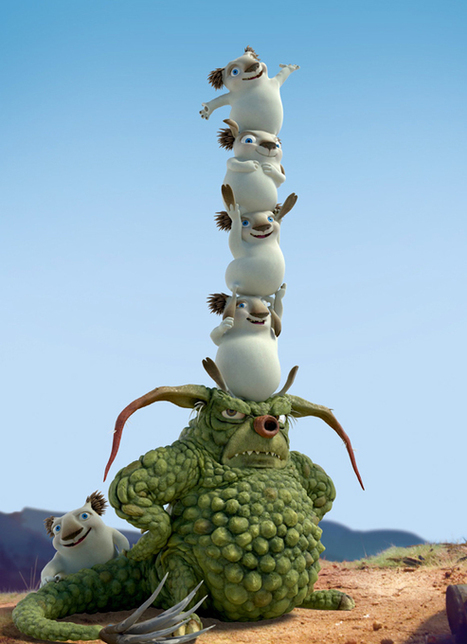 Behind the scenes with VFX Artist Wayne Osborne   Bottersnikes and Gumbles   Scoop.it