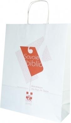 Un sac en papier pour Savoie Biblio - Le Sac Publicitaire   Sac papier publicitaire   Scoop.it