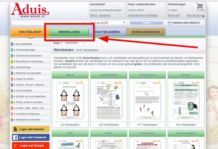 Edu-Curator: Op de website van Aduis vind je heel veel gratis te downloaden werkbladen | Educatief Internet - Gespot op 't Web | Scoop.it