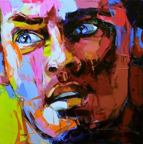 New Electrifying Palette Knife Portraits by Françoise Nielly - My Modern Metropolis | Le It e Amo ✪ | Scoop.it