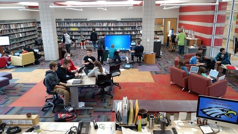 How This School Library Increased Student Use by 1,000 Percent | Future of School Libraries | Scoop.it