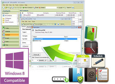 Free Personal Information Manager (PIM) Software - EfficientPIM | Efficient Software | Scoop.it