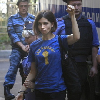 Pussy Riot Member Nadezhda Tolokonnikova Hospitalized After Hunger Strike | Alternative Rock | Scoop.it